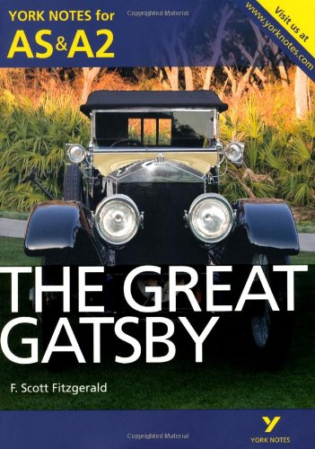 Download Great Gatsby (York Notes for As & A2) pdf epub