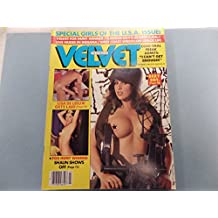Velvet Men's Magazine Lisa De Leeuw /Randy West #3 1982