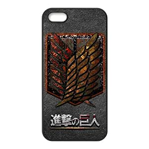 GKCB Attack On Titan Fashion Comstom Plastic case cover For Iphone 5s