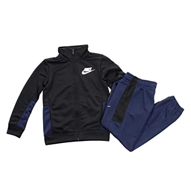 Nike Two-Piece – Chándal para niño, Black/Obsidian/Black/White, FR ...