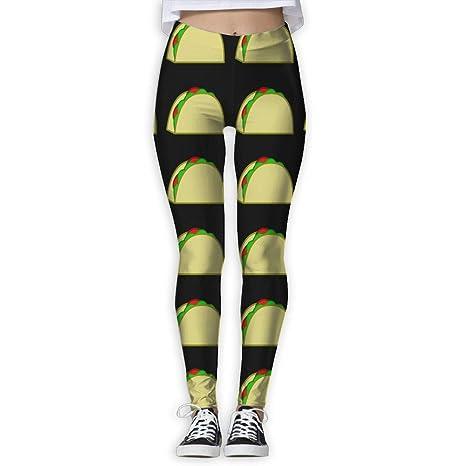 Amazon.com: MASDUIH Taco Pattern Womans Yoga Jogger ...