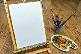 Artlicious Canvas Panels 24 Pack - 8 inch x 10 inch Super Value Pack - Artist Canvas Boards for Painting