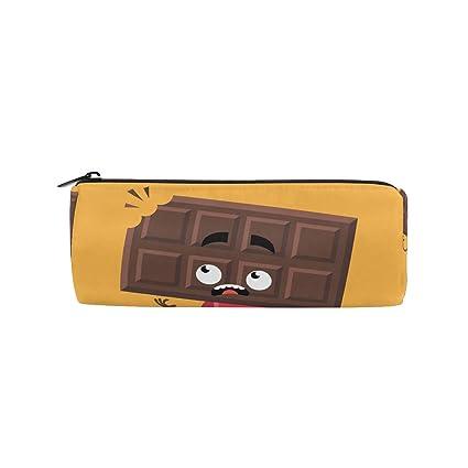 Bonie - Estuche para lápices de chocolate con diseño de ...