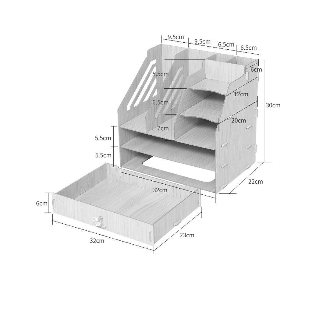 WXH-Datei Halter Feilenhalter Einfache Einfache Einfache Aufbewahrungsbox für Bücherregale (Farbe   A) B07HC965DL    | Zu verkaufen  25b44e