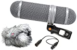 Rycote Super-Shield Kit, Small, Includes Rear Pod, Front Pod, Windjammer, 17.71''/45cm XLR-3F/3M Cable