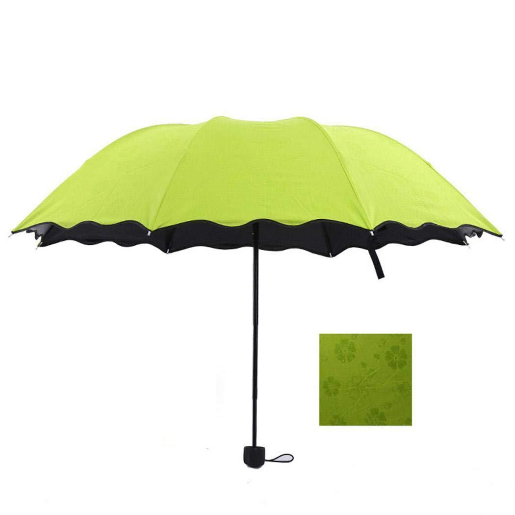 cokil Parapluie Pliant Solide portatif Durable imperm/éable au Vent Parapluies