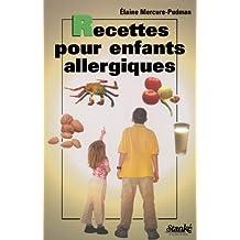 Recettes pr enfants allergiques