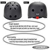 Dtown-CPSC-Helmet-ABS-Shell-with-120G-Inner-Black-EPS-FoamMatte-ColorEnsure-fit
