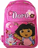 Dora the Explorer Children's School Backpack - Dora and Boots with Flowers