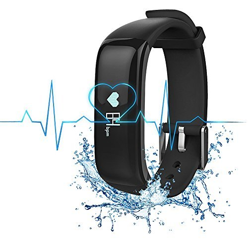 bietia fitness tracker smart wristband app ip67 water resistance