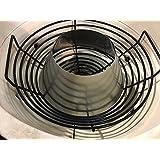 Relishfire 1 pc Stainless Steel Whirlpool& 1 pc Porcelain Enamel Ash Removing Basket