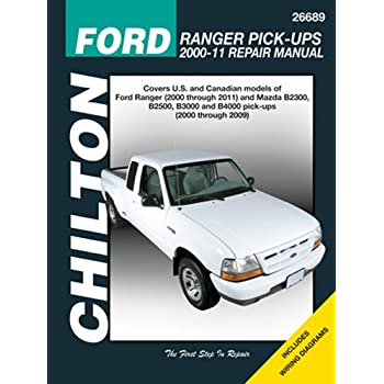 Amazon chilton automotive repair manual for ford ranger pick chilton automotive repair manual for ford ranger pick ups 2000 11 26689 publicscrutiny Images