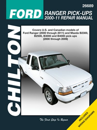 Automotive Repair Manual For Ford Ranger Pick Ups 2000 11 26689