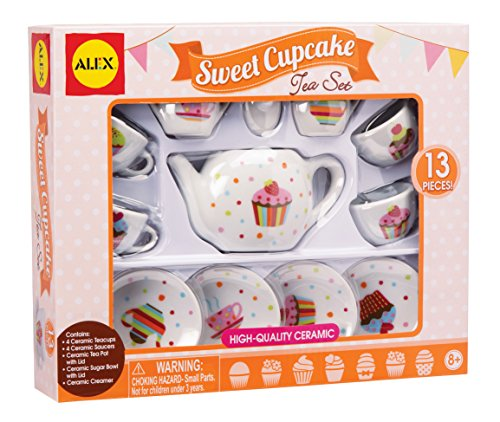 ALEX Toys Sweet Cupcake Tea Set (Alex Tea)