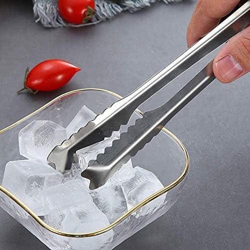 kit et outils de bar Haude Sac /à glace en toile et maillet en bois pour /écraser la glace pelle /à glace en acier et pince /à glace pour glace
