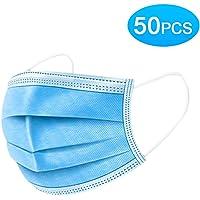 50 PCS Mask de seguridad desechables Filtración