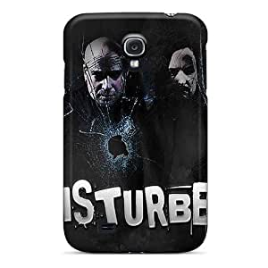 High Grade Yinmobileshop Flexible Tpu Cases For Galaxy S4 - Disturbed Black Friday