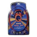 Q Power Super Flex 4-Gauge 3000-Watt Amplifier Wiring Amp Kit   4GAMPKIT-SFLEX