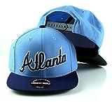 MLB American Needle Scripteez Cooperstown Wool Adjustable Snapback Hat (Atlanta Braves)