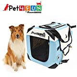 PET4FUN® PN950 Foldable Pet Puppy Dog Cat Carrier & Travel Crate w/ Premium 600D Oxford Cloth, Strong Steel Frame, Carry Bag, Locking Zippers, Washable Nap Pad, Airy Windows | 3 Size & 3 Colors Review