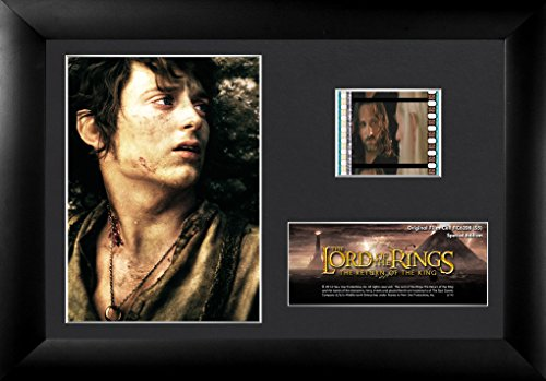 Trend Setters Lord of The Rings The Return of The King Frodo Framed Film Cell, Mini (Rings The Mini Film Lord Cell Of)