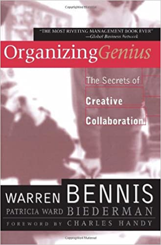 Book Organizing Genius: The Secrets of Creative Collaboration