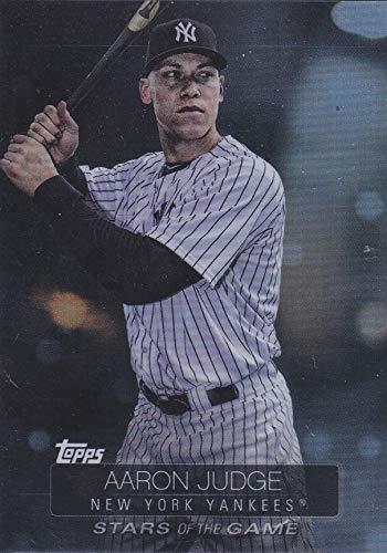 2019 Topps Series 1- Aaron Judge - Stars of the Game - New York Yankees Baseball Card #SSB95