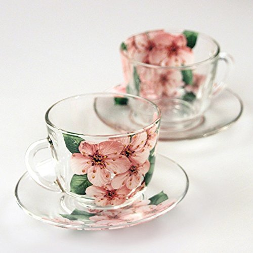 Two Teacup and Saucer Set