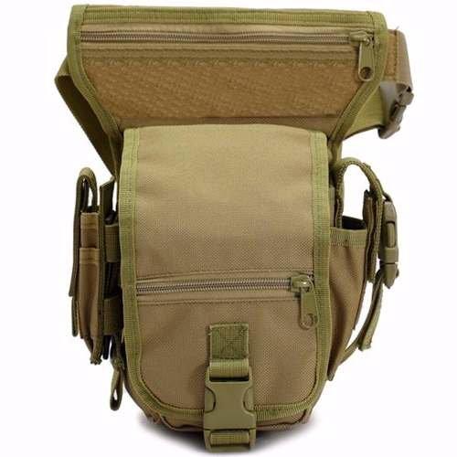 f4f97cde0 Garumi Piernera Tactica Estilo Militar Color Cafe: Amazon.com.mx ...