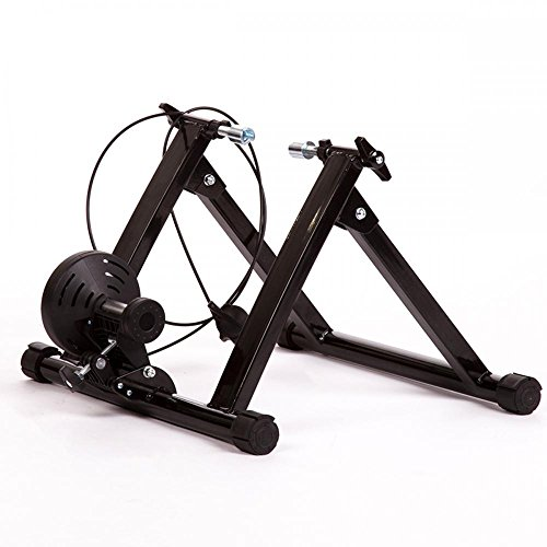 Magnetic Indoor Bicycle Bike Trainer Exercise Stand 5 levels of Resistance by FDW