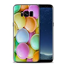 STUFF4 Gel TPU Phone Case / Cover for Samsung Galaxy S8/G950 / Flying Saucers Design / Confectionery Collection