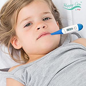 Digital Medical Thermometer Best FDA Quick 10 Second Reading for Oral, Rectal, Armpit Underarm, Body Temperature Clinical Professional Detecting Fever Baby, Infant, Kid, Babies, Children Adult and Pet