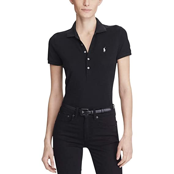 Polo Ralph Lauren Stretch Mesh/Julie Polo Mujer: Amazon.es: Ropa y ...
