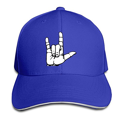 Driver ASL American Sign Language I Love You Sandwich Hats For Man