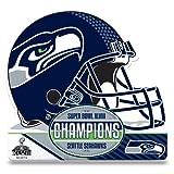 NFL 2014 Super Bowl XLVIII Champion Die Cut Pennant
