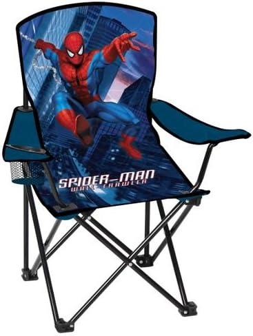 Folding Camp Arm-Chair for Kids Marvel Spider*Sense Spiderman