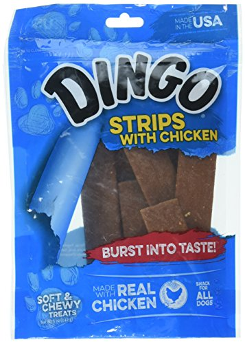 Dingo Gluten Free Chicken Strips, Made in the USA, 5-Ounce Review