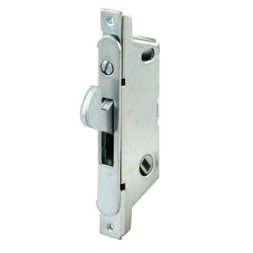 Prime-Line Products E 2119 Mortise Lock, Auto Latch, Round Face, Steel, Adams Rite