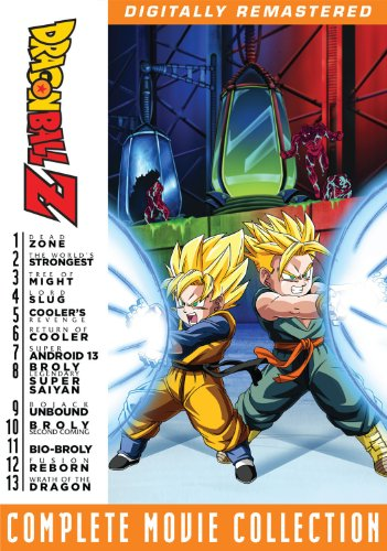 Dragonball Z Complete Movie Collection (Boxed Set)