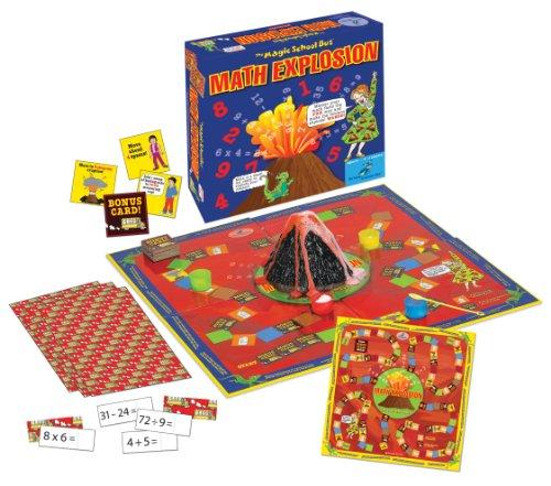 Math Explosion Game (Bus Microscope Magic)