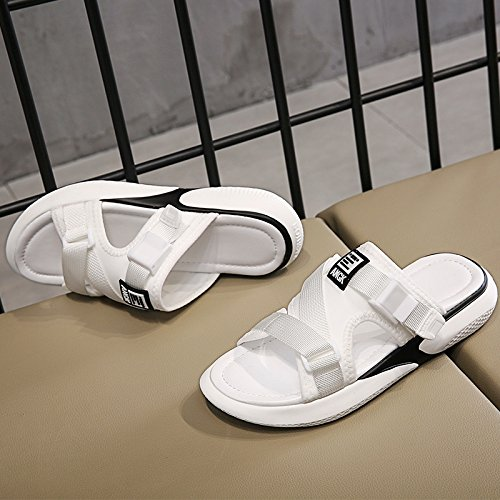Heel White Chunky Qin Women's Sandals Casual Flip amp;X Flop qw4X81R