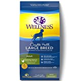 Wellness Complete Health Natural Dry Large Breed Dog Food, Chicken & Rice, 30-Pound Bag
