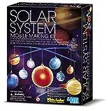 Toysmith 4M Glow Solar System Mobile #3450