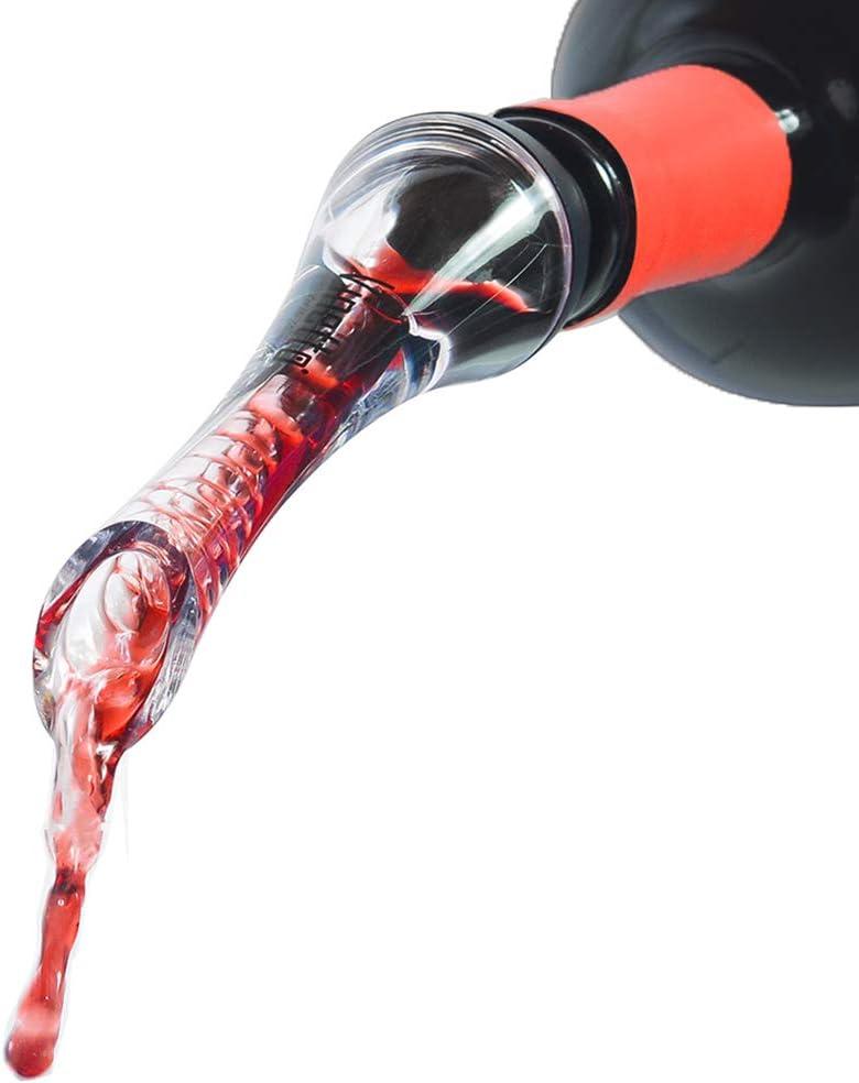 Aireador para vino tinto verter boquilla botella decantador vertedor aireaci/ón