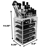 Sorbus Cosmetic Makeup and Jewelry Storage Case