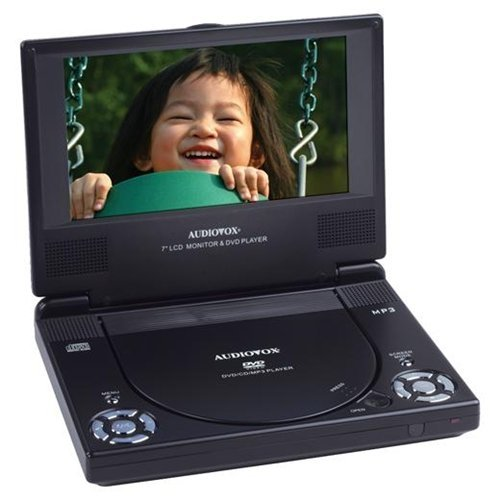 Audiovox D1788 7-Inch Slim Line Portable DVD (Audiovox Rechargeable Battery)