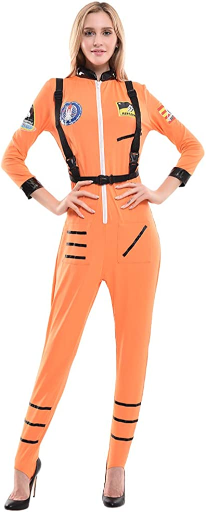 Women's Astronaut Costume Jumpsuit Sexy Space Suit