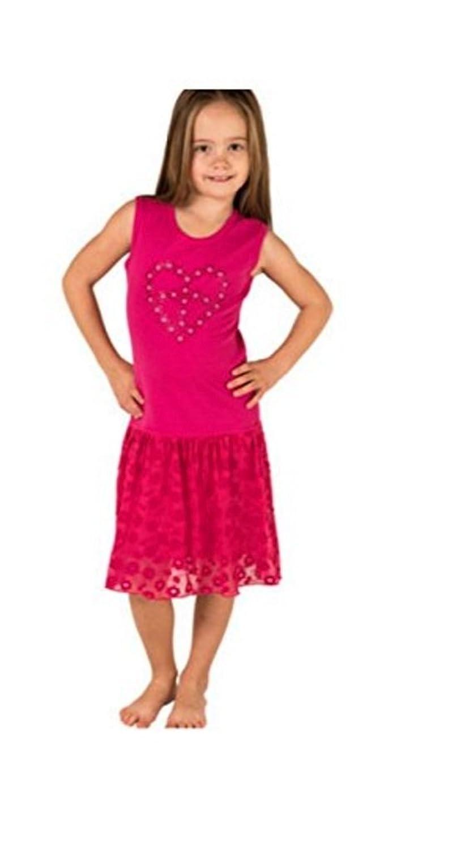 Cap Sleeve Rhinestuds Tie Dye Mignone Dress for Girls Sleeveless