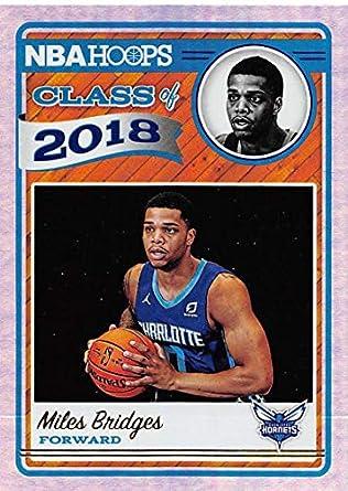 more photos 5d398 4273d Amazon.com: 2018-19 NBA Hoops Class of 2018 Holo #12 Miles ...