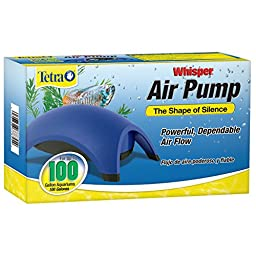 Tetra 77855 Whisper Air Pump, 100-Gallon